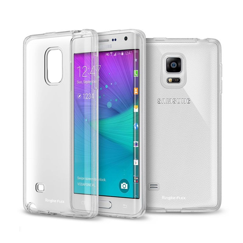 Rearth Ringke Flex Crystal View Soft Case for Samsung Galaxy Note Edge