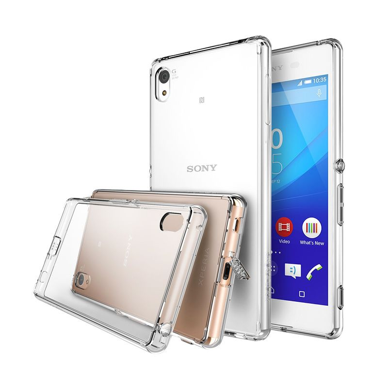Rearth Ringke Fusion Crystal View Casing for Sony Xperia Z3+ or Z4
