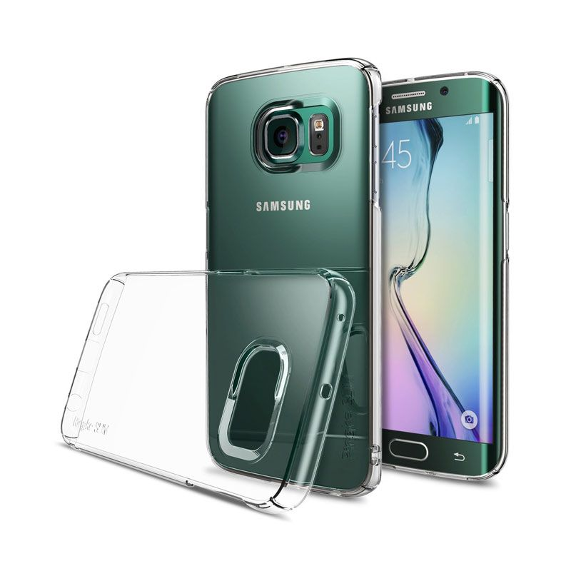 Rearth Ringke Slim Clear Case for Samsung Galaxy S6 Edge