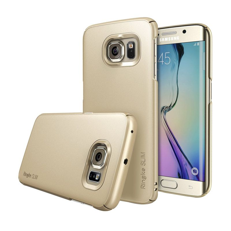 Rearth Ringke Slim Royal Gold Casing for Galaxy S6 Edge