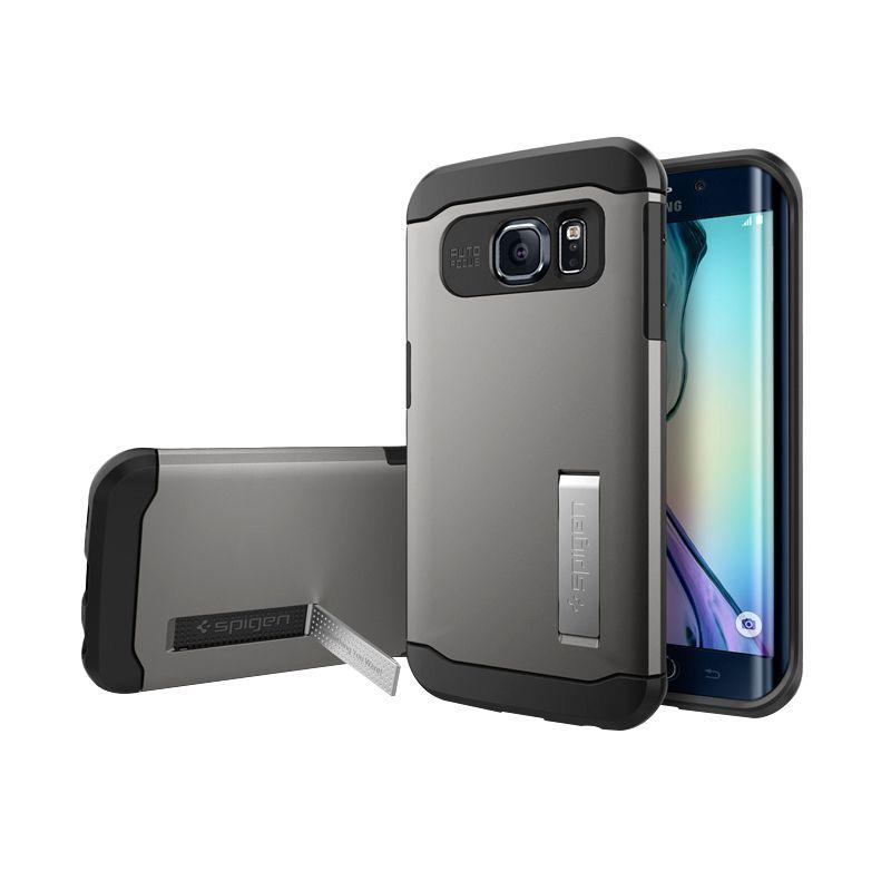 Spigen Slim Armor Gunmetal Casing for Samsung Galaxy S6 Edge