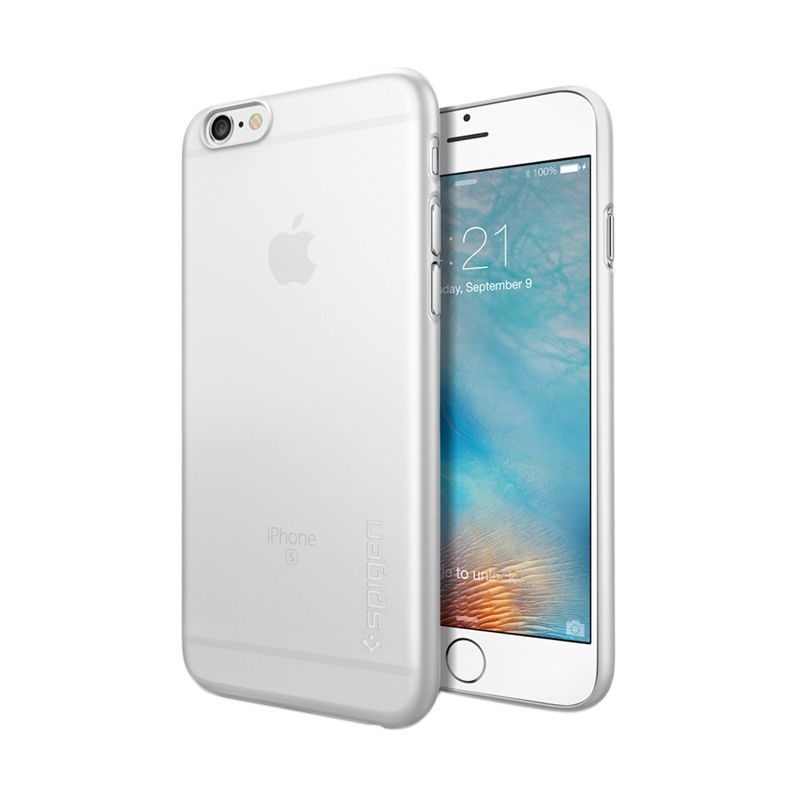 Spigen Hard Thin AirSkin Clear Casing for iPhone 6 or 6s