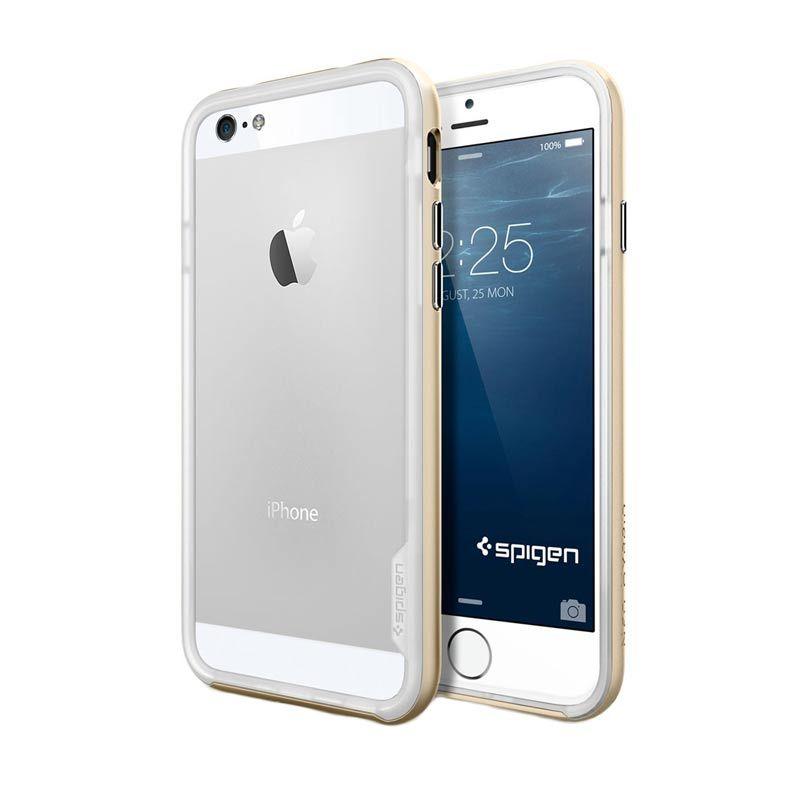 Spigen Hybrid Metal Gold Casing for iPhone 6 Neo