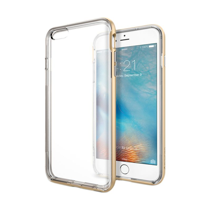 Spigen Neo Hybrid EX Champagne Gold Casing for iPhone 6 Plus or 6s Plus