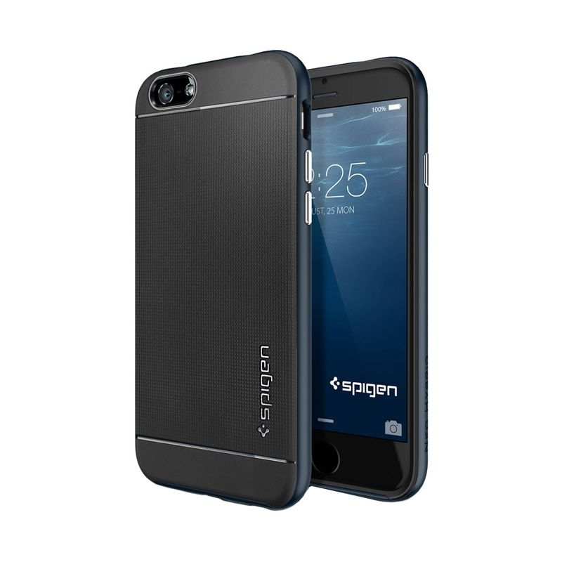 Spigen Neo Hybrid Metal Slate Case Casing for iPhone 6
