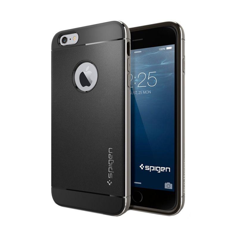 Spigen Neo Hybrid Metal Space Gray Case Casing for iPhone 6 Plus