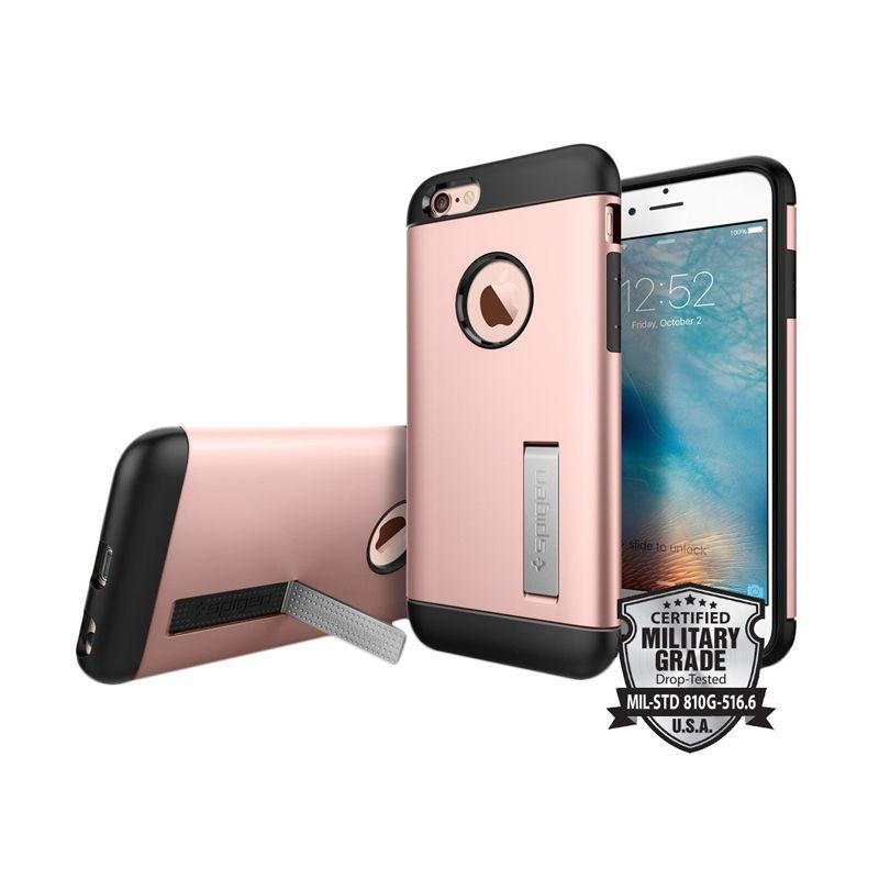 Spigen Slim Armor Rose Gold Casing for iPhone 6 Plus or 6s Plus