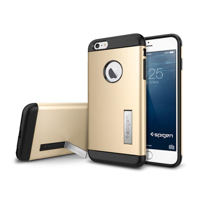 Spigen Tough Armor Champagne Gold Casing for iPhone 6 Plus