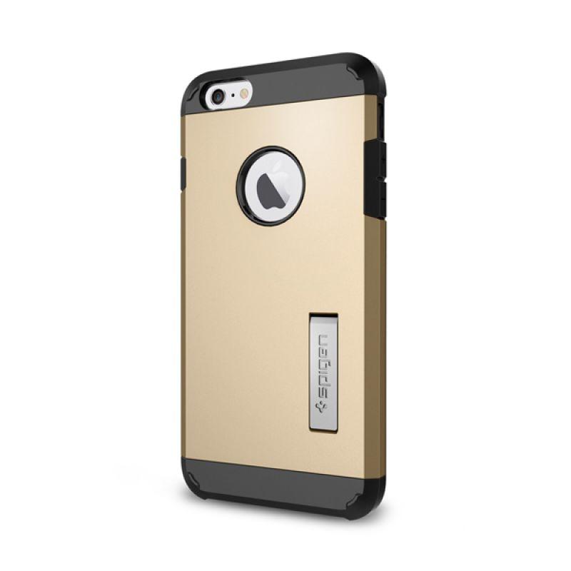 Spigen Tough Armor Gold Champagne Casing for iPhone 6 Plus