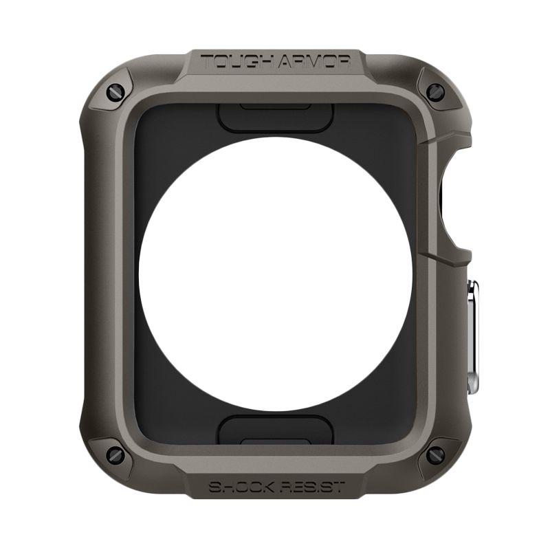 Spigen Apple Watch 42mm Series 1 / 2 Case Tough Armor Gunmetal