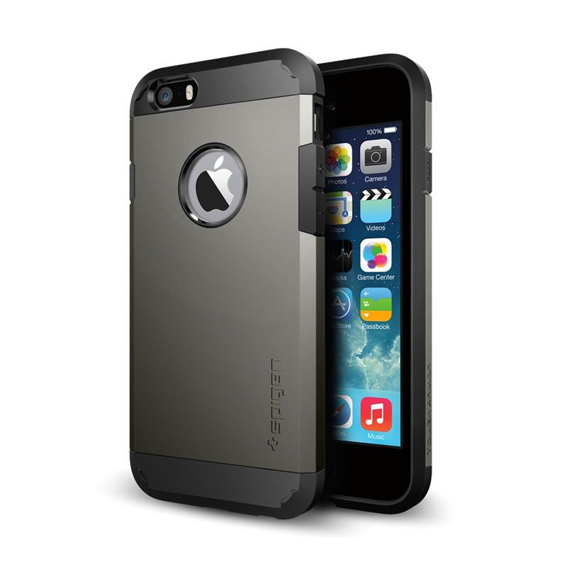 Spigen Tough Armor Gunmetal Casing for iPhone 6 or 6s