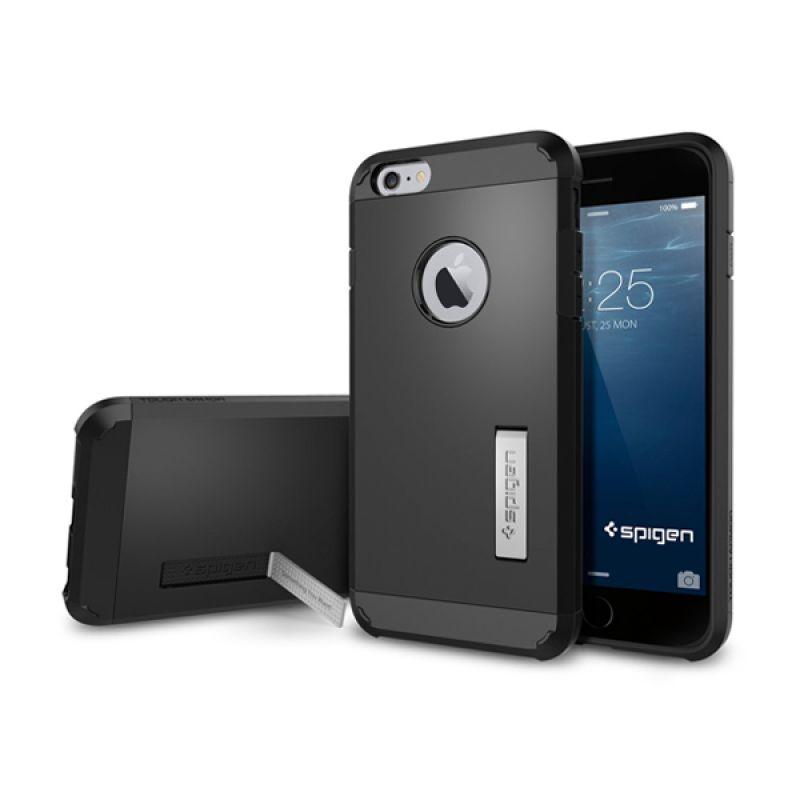 Spigen Tough Armor Smooth Black Casing for iPhone 6 Plus