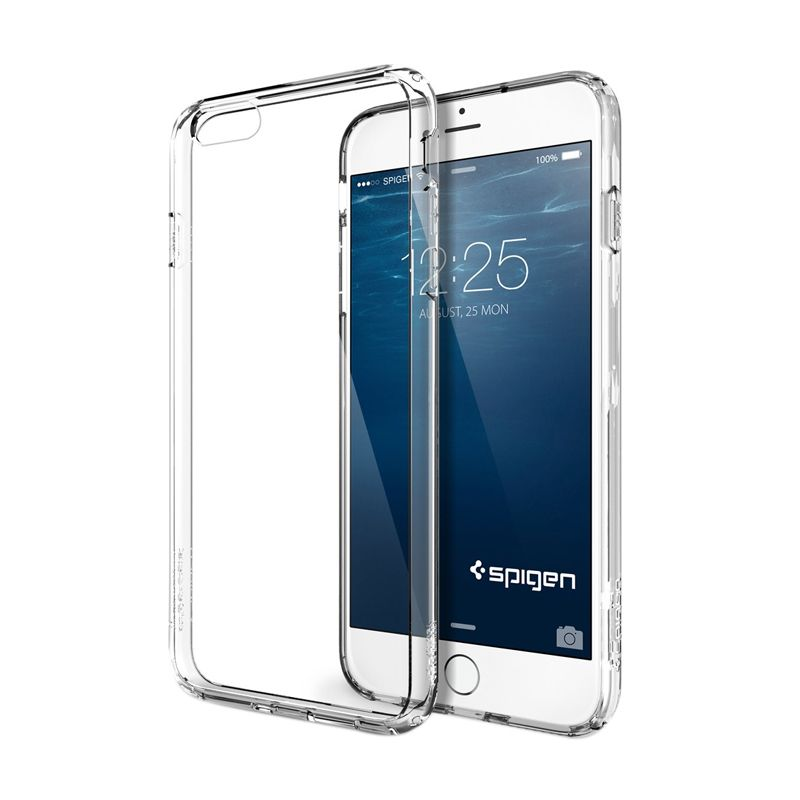 Spigen Ultra Hybrid Crystal Clear Casing for iPhone 6 Plus