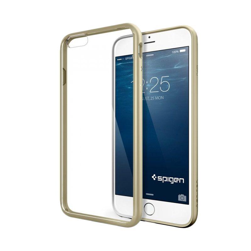Spigen Ultra Hybrid Hard Case Gold Casing for iPhone 6 [4.7