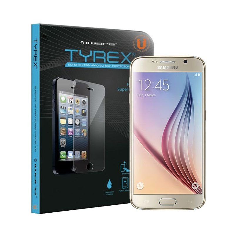 Tyrex Tempered Glass Screen Protector for Samsung Galaxy S6