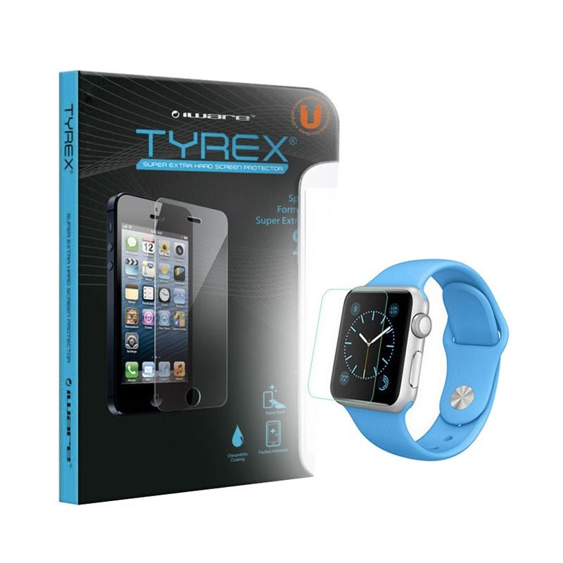 Tyrex Tempered Glass Screen Protector for Apple Watch [38 mm]
