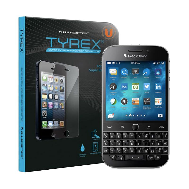 Tyrex Tempered Glass Screen Protector for BlackBerry Classic Q20