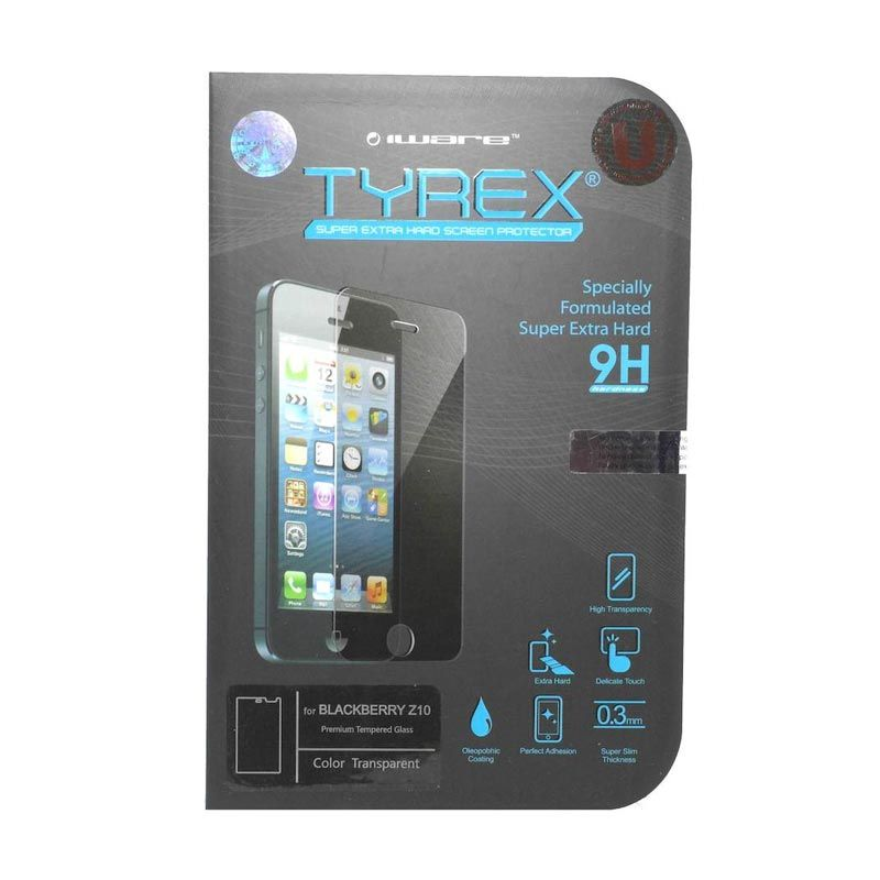 Tyrex Tempered Glass Screen Protector for BlackBerry Z10 [0.3 mm]