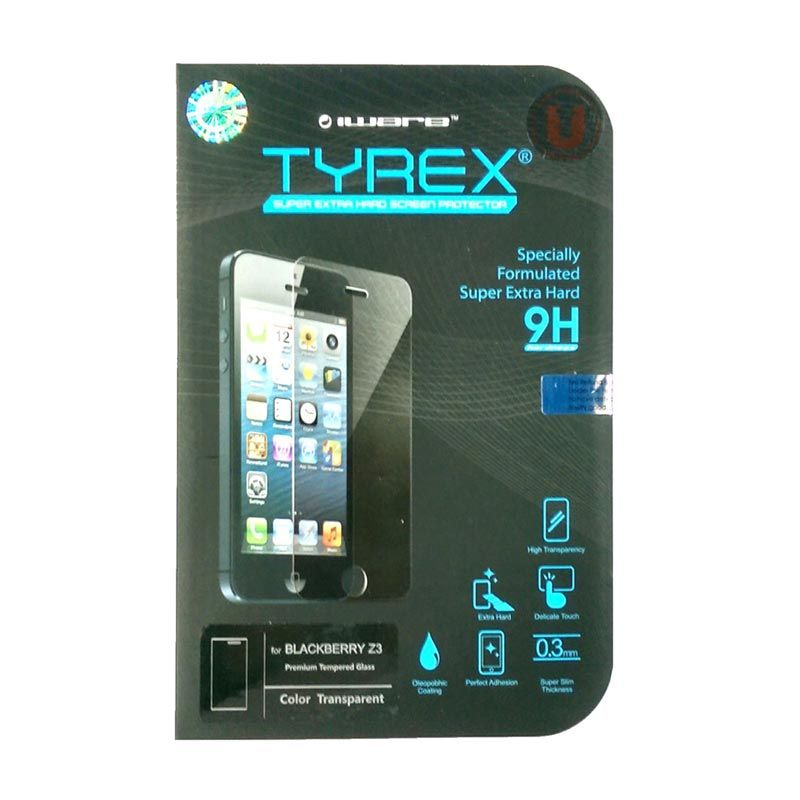 Tyrex Tempered Glass Screen Protector for BlackBerry Z3 [0.3 mm]