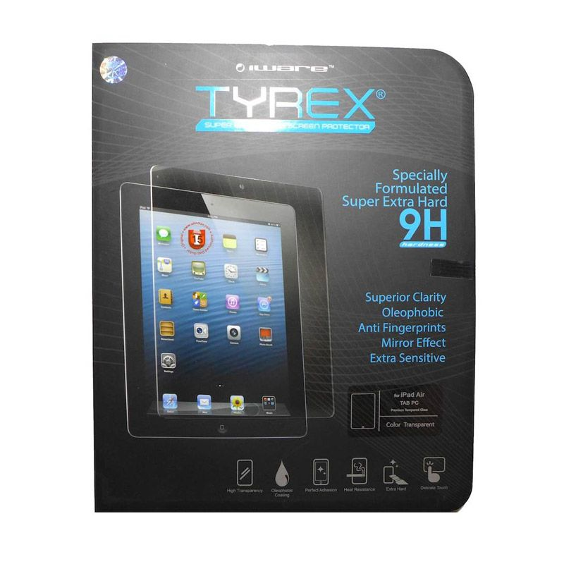 Tyrex Tempered Glass Screen Protector for iPad Air