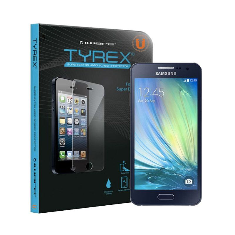 Tyrex Tempered Glass Screen Protector for Galaxy A3