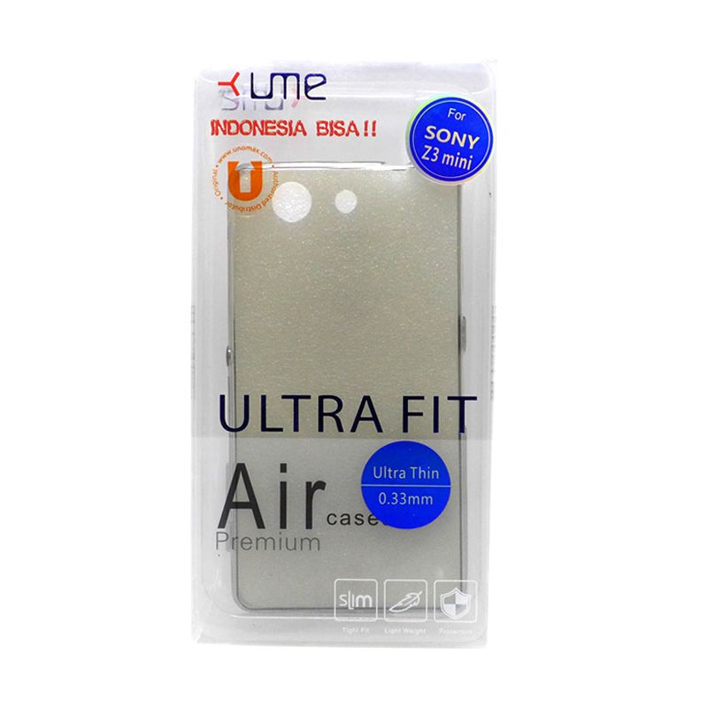 Ume Ultra Fit Air Silicon Black Casing for Sony Xperia Z3 Compact
