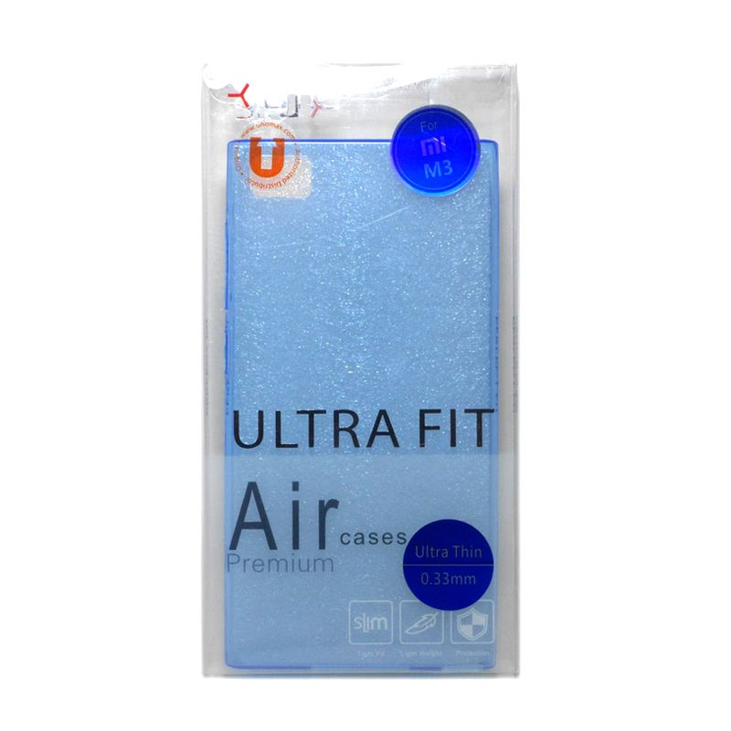 Ume Ultra Fit Air Silicon Blue Casing For Xiaomi Mi3