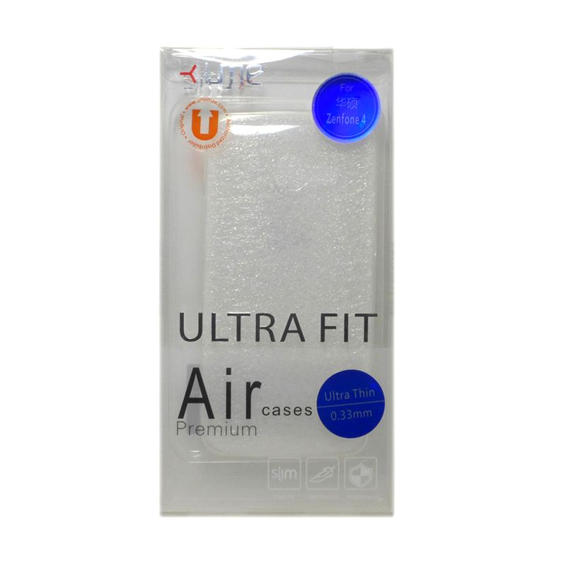Ume Ultra Fit Air Silicon Clear Casing for Asus Zenfone 4