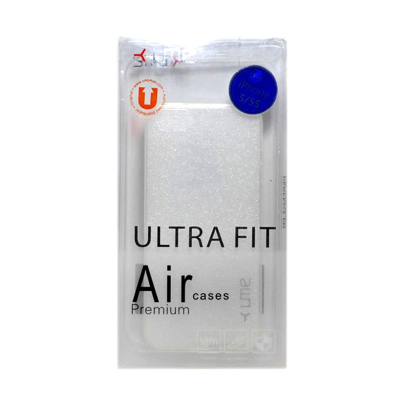 Ume Ultra Fit Air Silicon Clear Casing For iPhone 5/5s