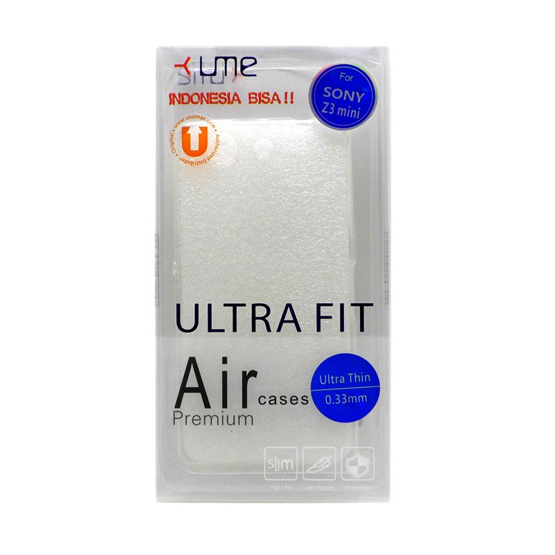 Ume Ultra Fit Air Silicon Clear Casing for Sony Xperia Z3 Compact
