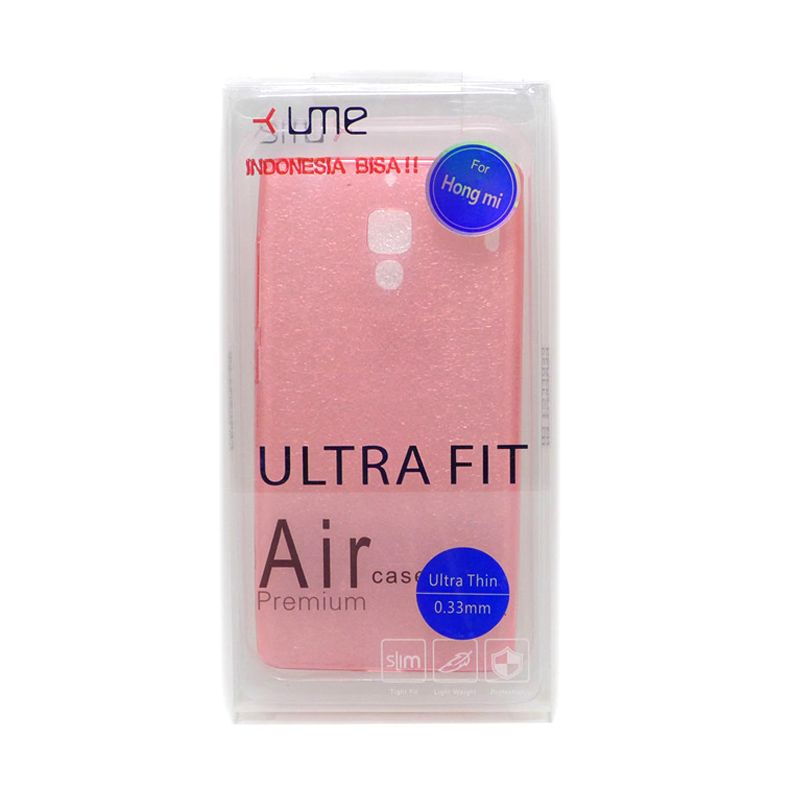 Ume Ultra Fit Air Silicon Red Casing For Xiaomi Redmi 1S