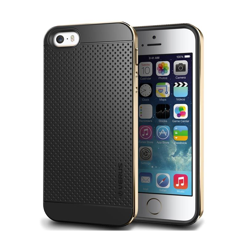 Verus Case Iron Shield Gold Casing for iPhone 5 or 5S