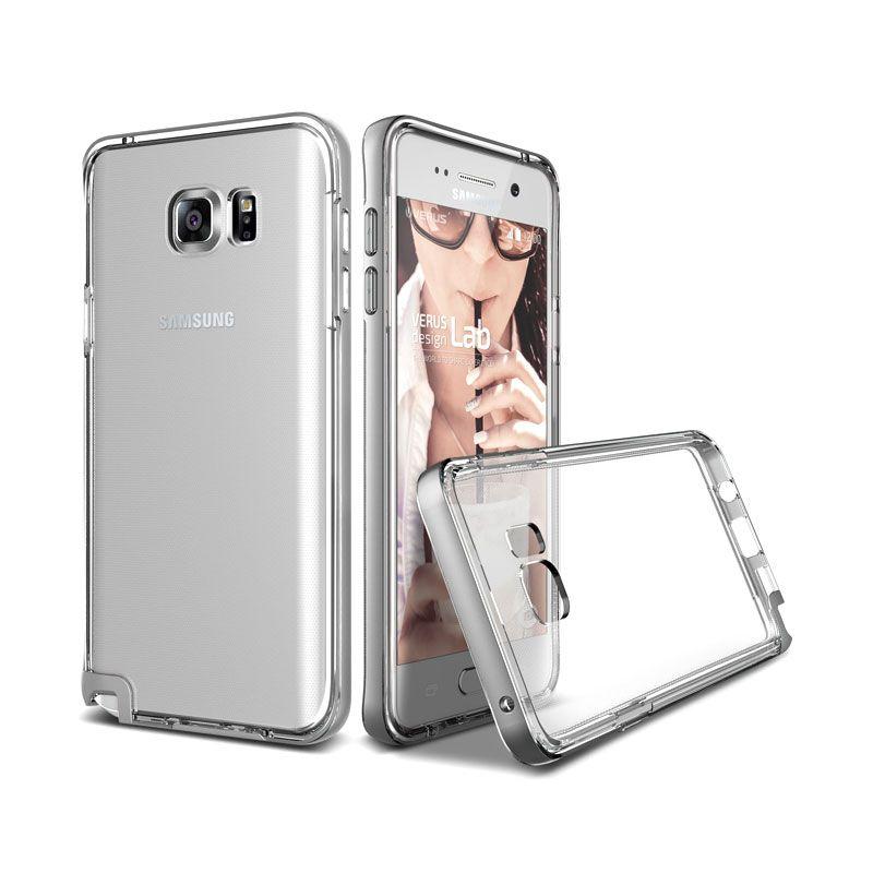Verus Crystal Bumper Light Silver Casing for Samsung Galaxy Note 5