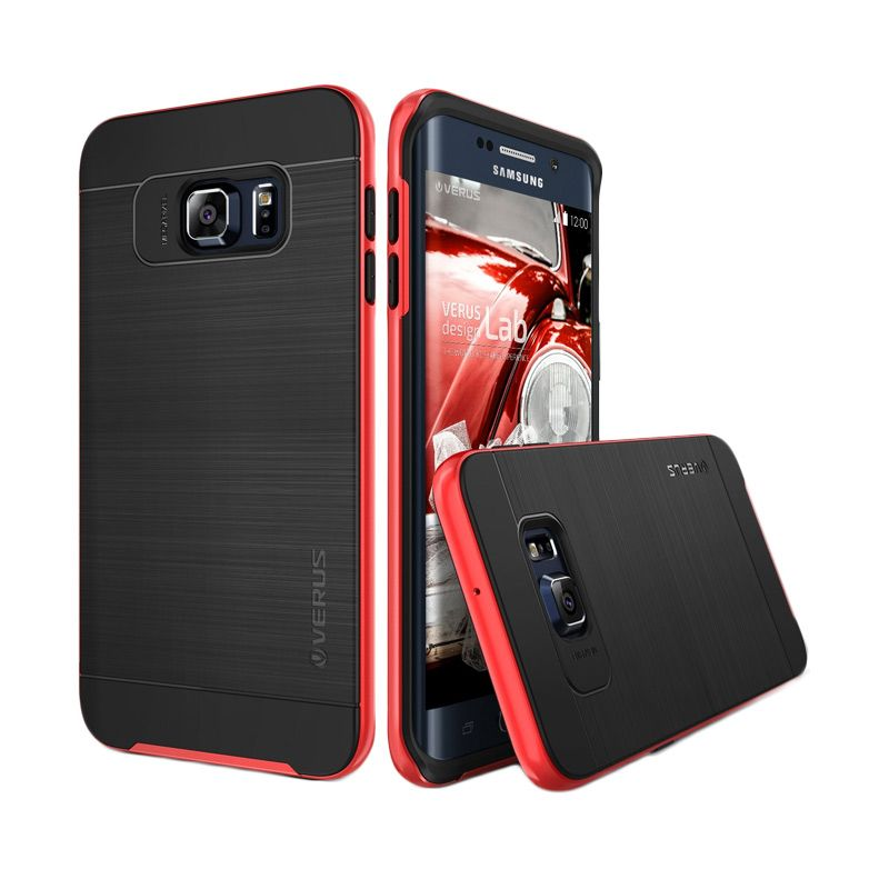 Verus High Pro Shield Crimson Red Casing for Samsung Galaxy S6 Edge Plus