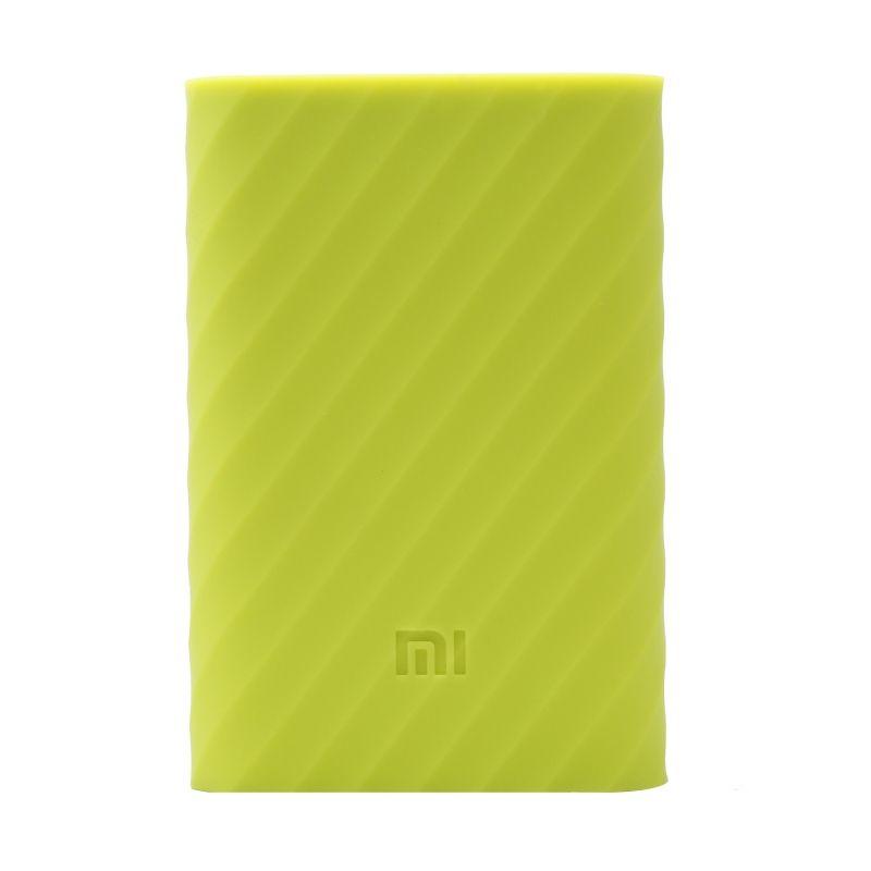 Xiaomi Green Silicon Casing for Mi Power Bank 10000 mAh