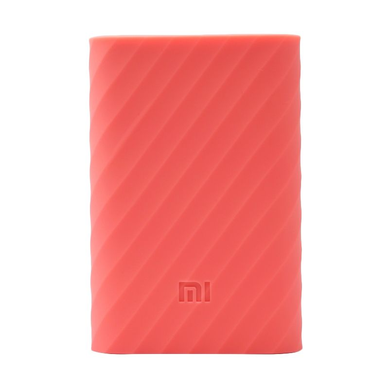 Xiaomi Pink Silicon Casing for Mi Powerbank 10000 mAh