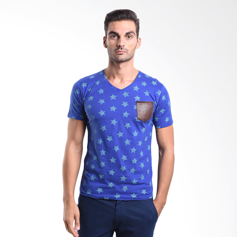 Urban Connexion Men Shirt Blue printing shirt with leather pocket UC-M-S089 All Size Extra diskon 7% setiap hari Extra diskon 5% setiap hari Citibank – lebih hemat 10%