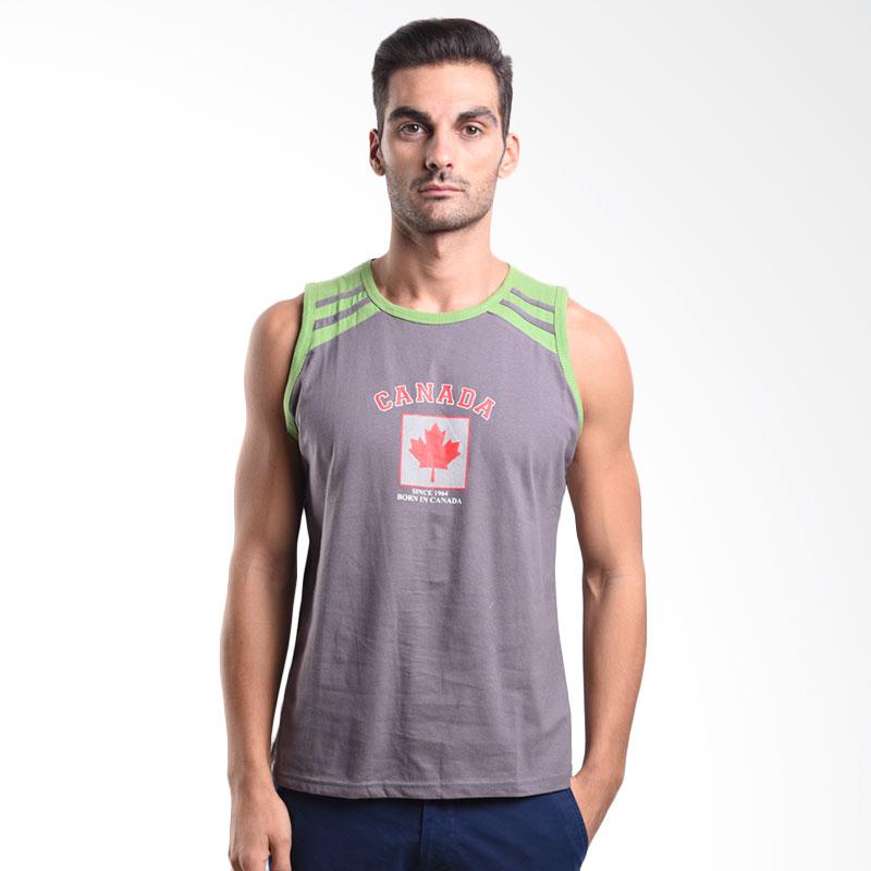 Urban Connexion Men Shirt Canada sleeveless shirt grey green UC-M-S071 All Size Extra diskon 7% setiap hari Extra diskon 5% setiap hari Citibank – lebih hemat 10%