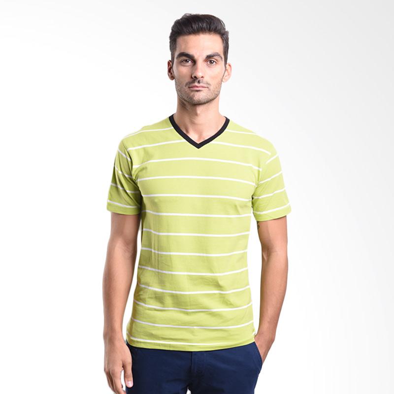 Urban Connexion Men Shirt Marco lime green stripe shirt UC-M-S076 All Size Extra diskon 7% setiap hari Extra diskon 5% setiap hari Citibank – lebih hemat 10%