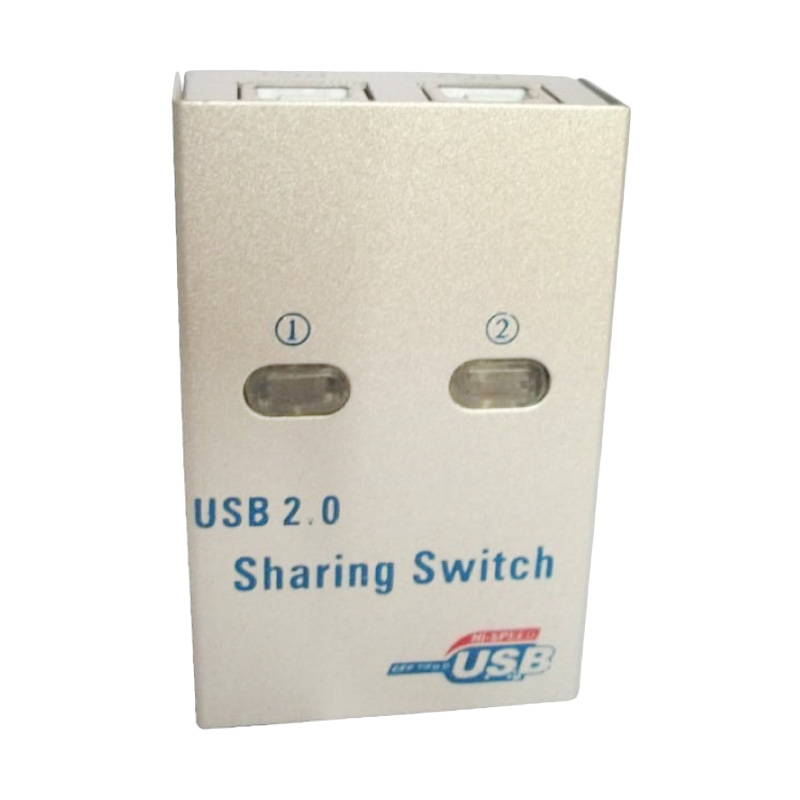 USB Fashion Cable Sharing Printer Switch Automatis [2 Port]