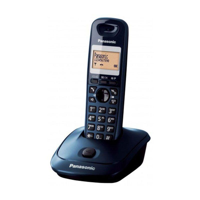 Panasonic KXTG2511CX Hitam Telepon Nirkabel Digital
