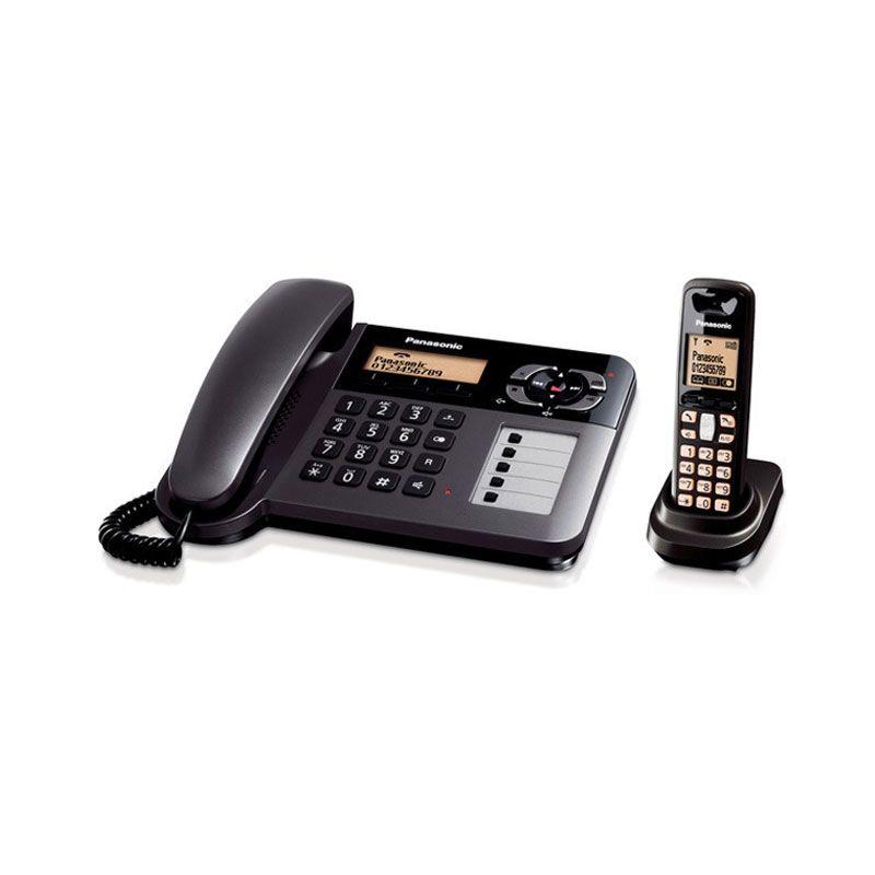 Panasonic KX-TG6451CX Hitam Digital Cordless Phone