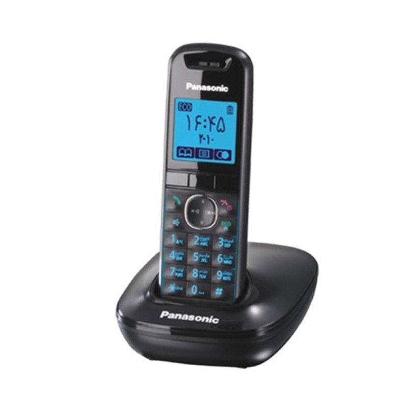 Panasonic KXTG5511CX Hitam Telepon Nirkabel Digital
