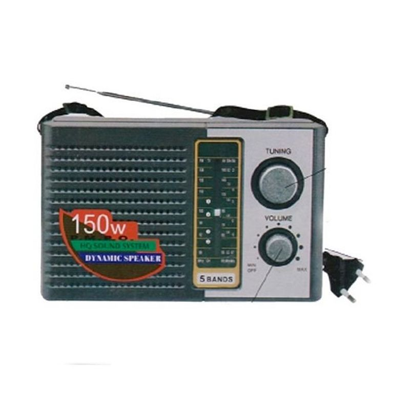 Internasional 5 Bands Portable Radio