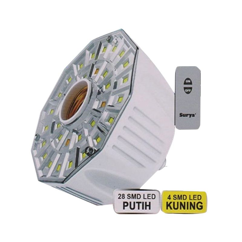 Surya SRE L 3208 RC Putih Emergency Lamp