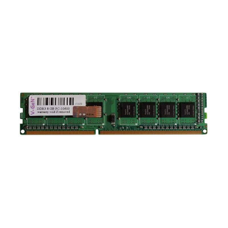 VGEN Memory RAM komputer 2GB DDR3 PC10600-1333Mhz VGEN