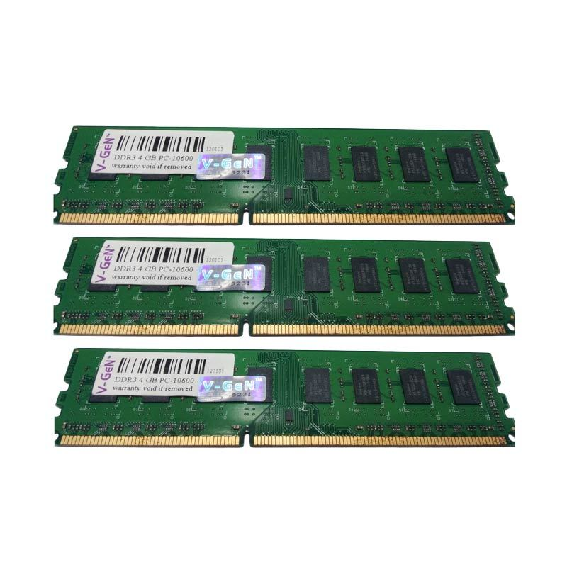 Jual V Gen Memori RAM PC DDR3 4GB PC12800 Online