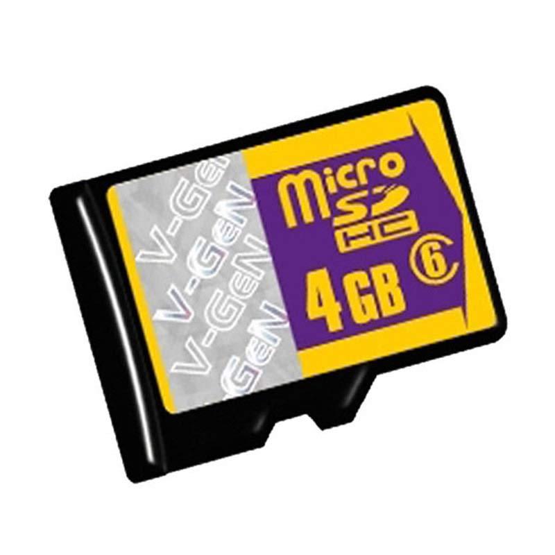 harga V-GEN Class 6 Micro SD Memory Card [4GB] Blibli.com