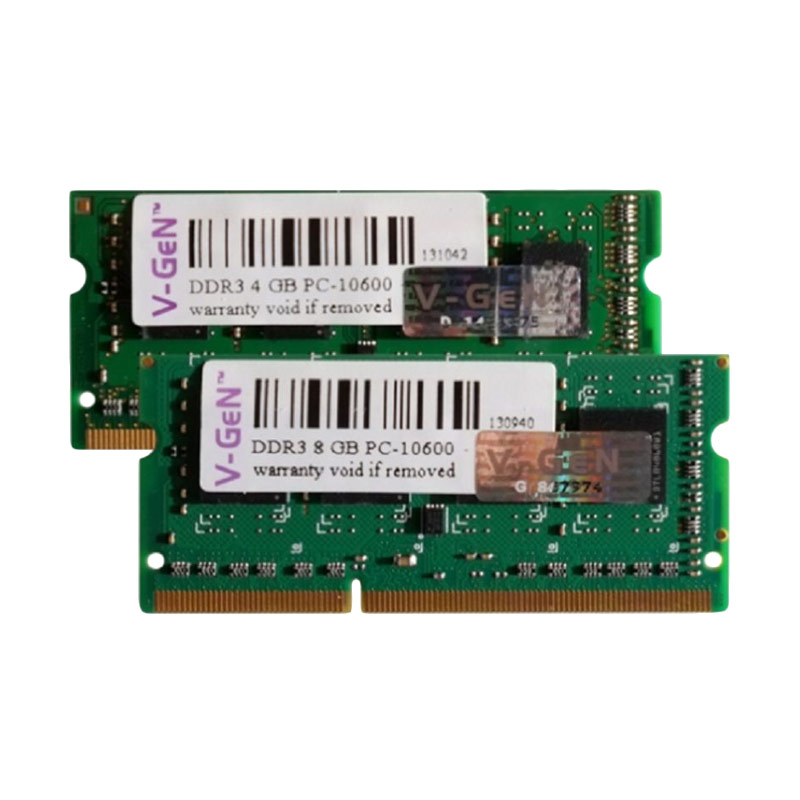V-Gen DDR3L PC12800 Sodimm Memory RAM for Notebook - [4 GB]