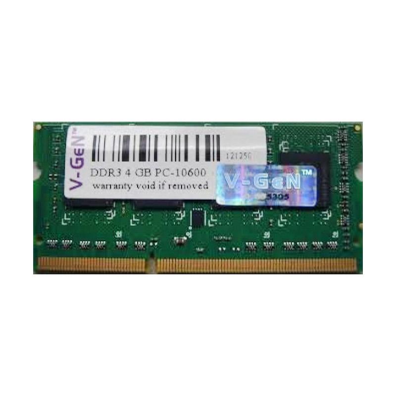 Jual V Gen Memori RAM Notebook 4GB DDR3 PC 12800 Online